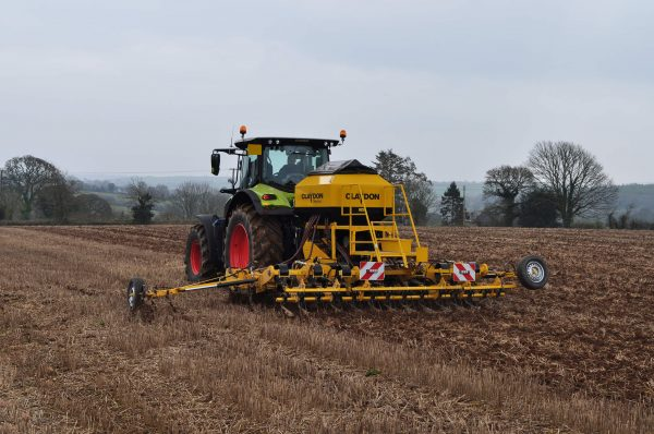 4m mounted direct seed drill