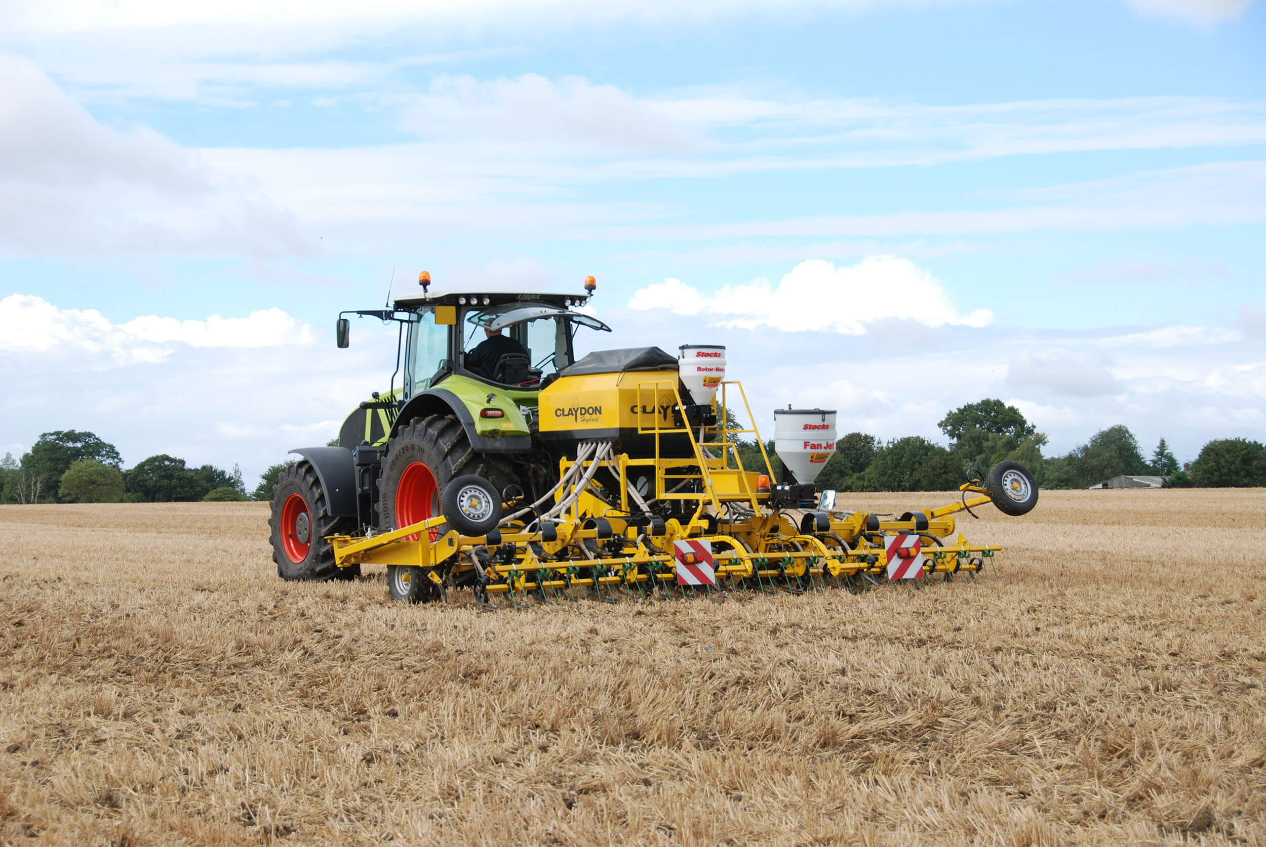 6m mounted direct seed drill