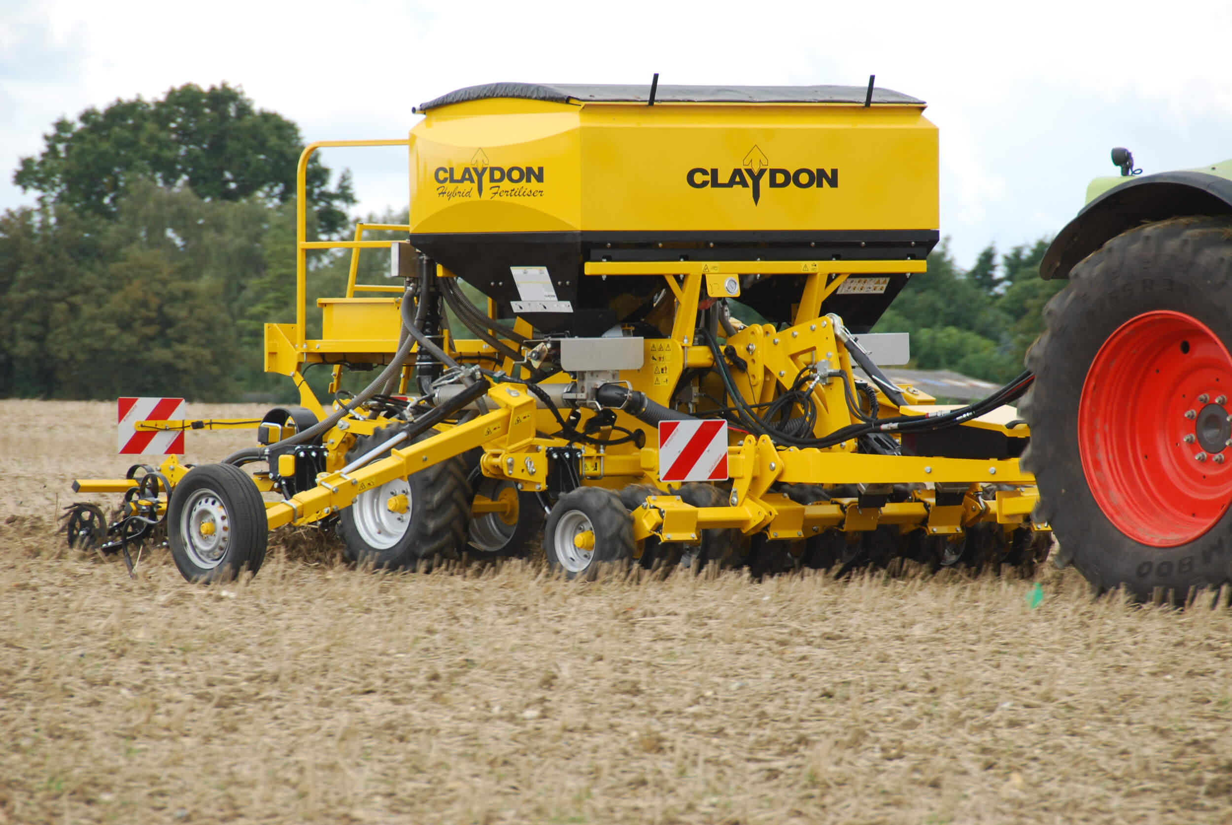 3m trailed direct seed drill