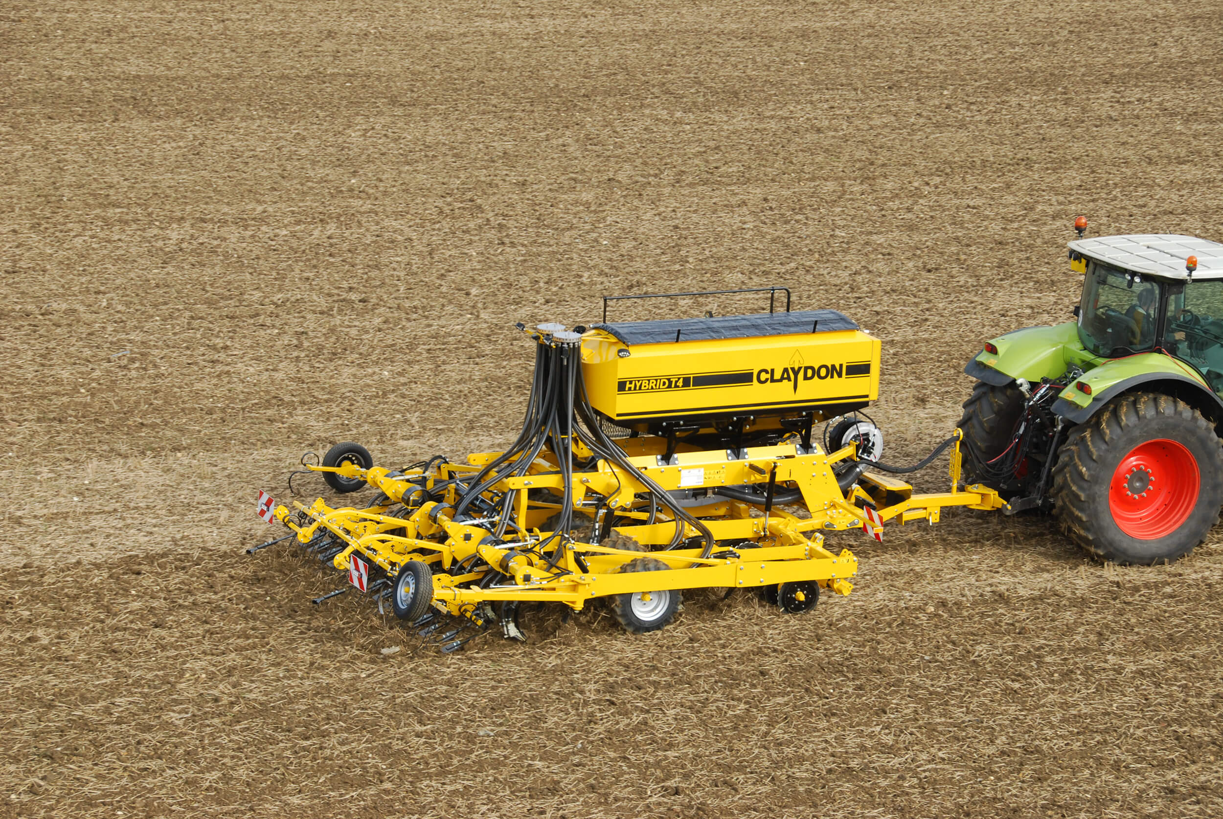 4m trailed direct seed drill
