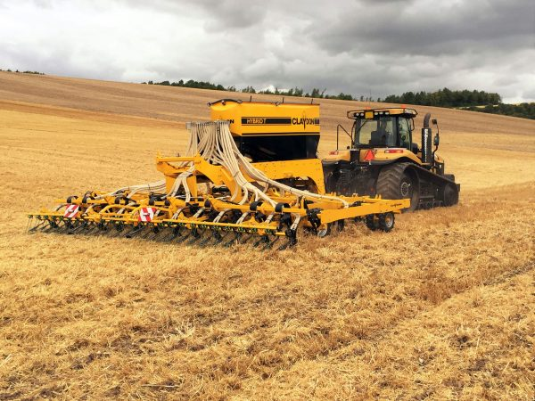 8m trailed direct seed drill