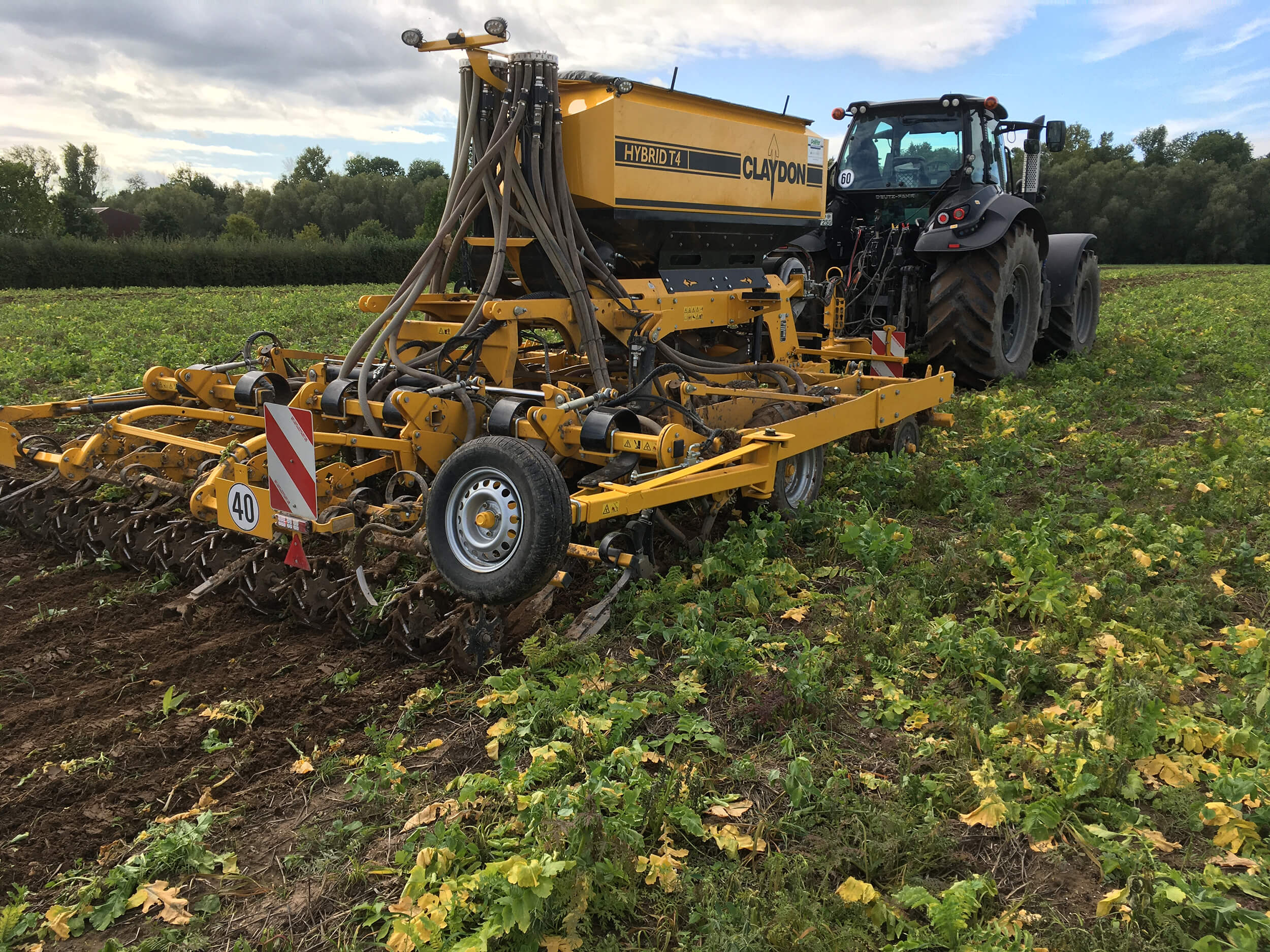cover crop drilling
