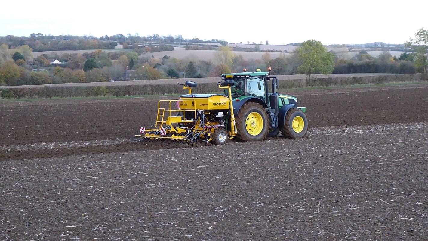 4m Hybrid rigid seed and fertiliser drill
