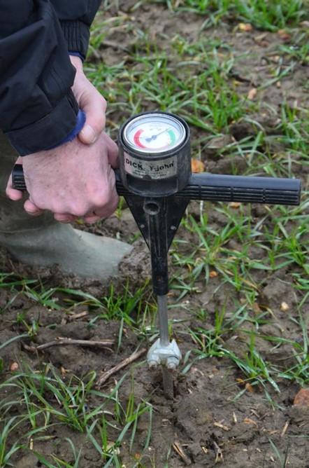 Soil test - penetrometer 2